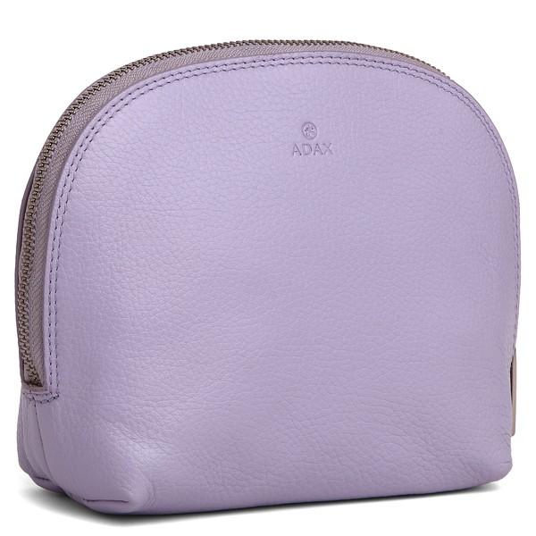 465592 ADAX Cormorano cosmetic purse light purple skrå