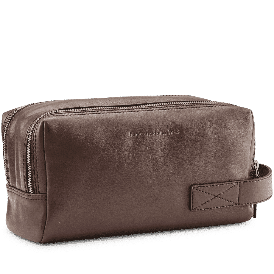 5102 Picard Relaxed Toalettmappe brun side