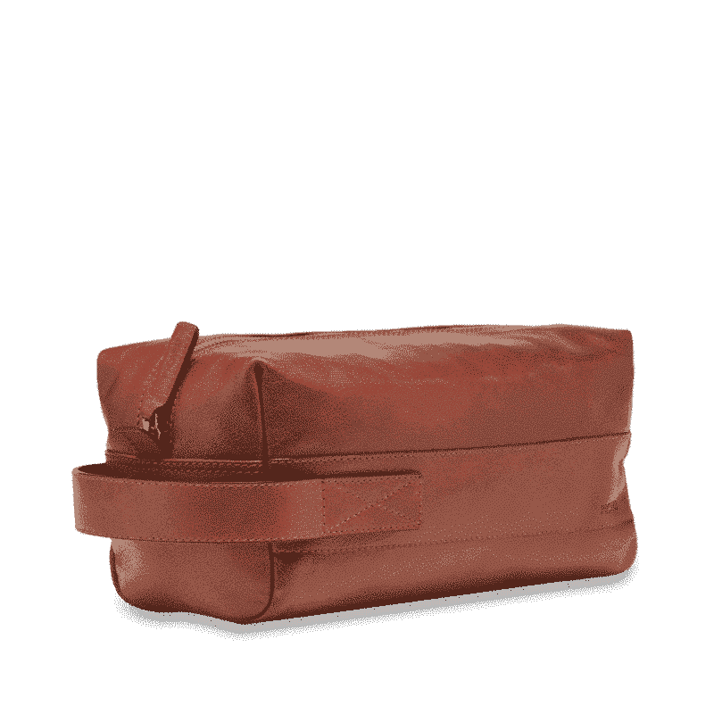 5502 Picard BUDDY toalettmappe cognac side