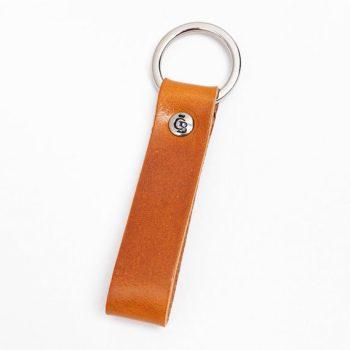 59 0008 Castelijn & Beerens Key Ring Cognac