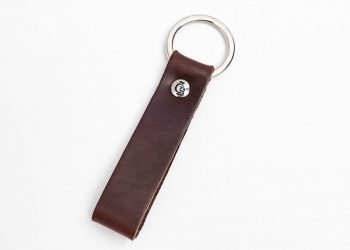 59 0008 Castelijn & Beerens Key Ring Mocca
