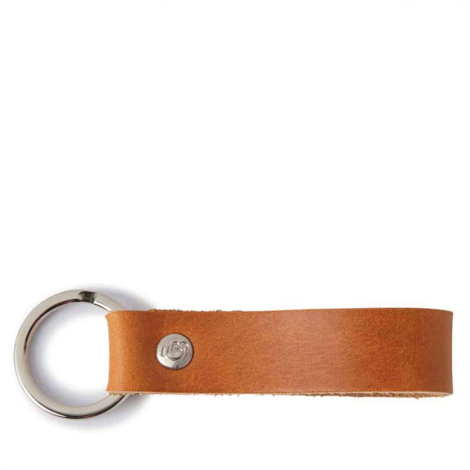 59 0008 Castelijn Beerens Key Ring - cognac - overside