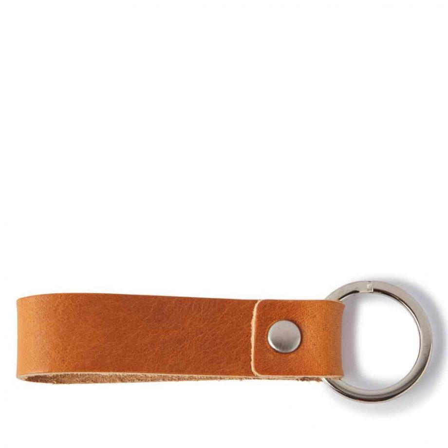 59 0008 Castelijn Beerens Key Ring - cognac - underside