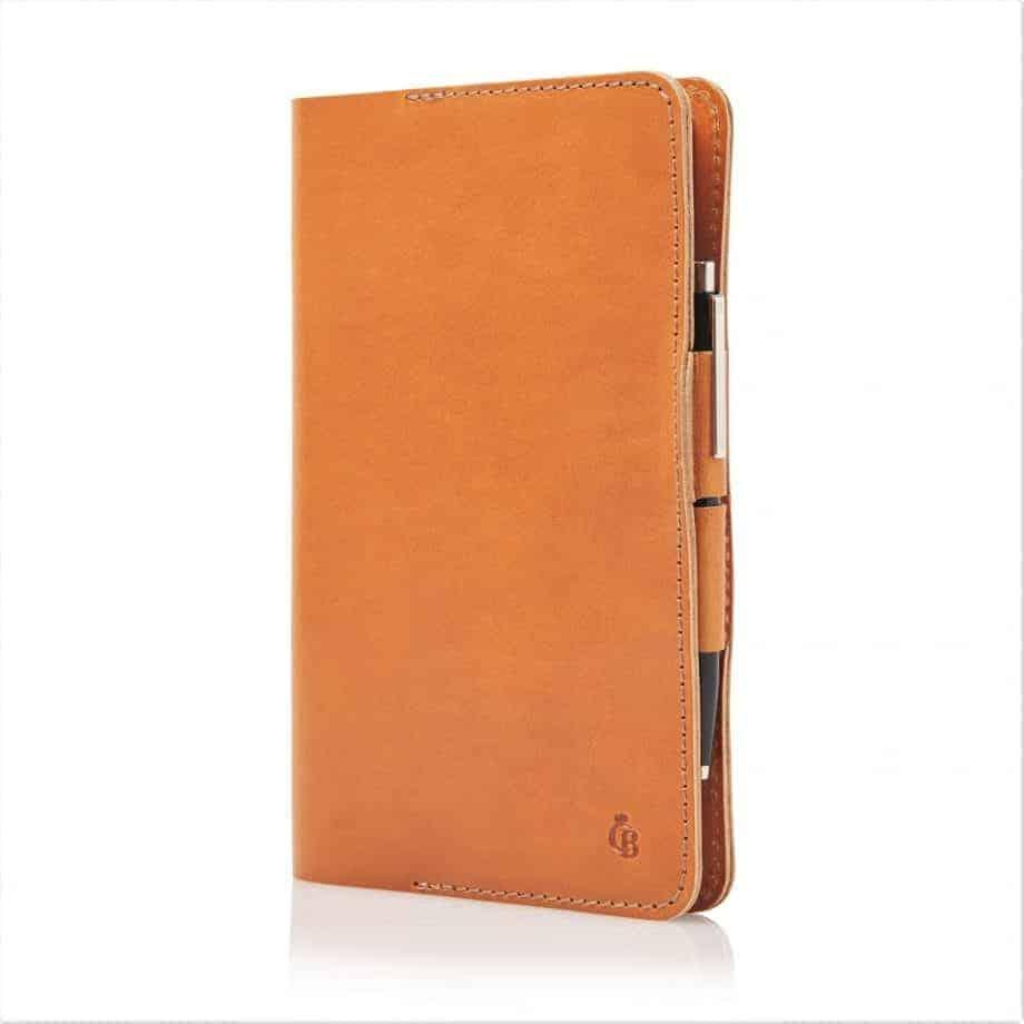 59 6050 Castelijn Beerens Notebook Cover A5 Cognac Side