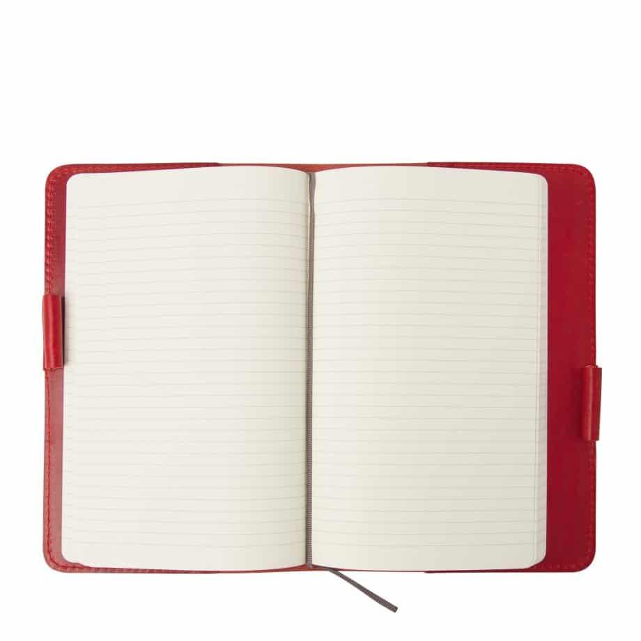 59 6050 Castelijn Beerens Notebook Cover A5 Red Innside