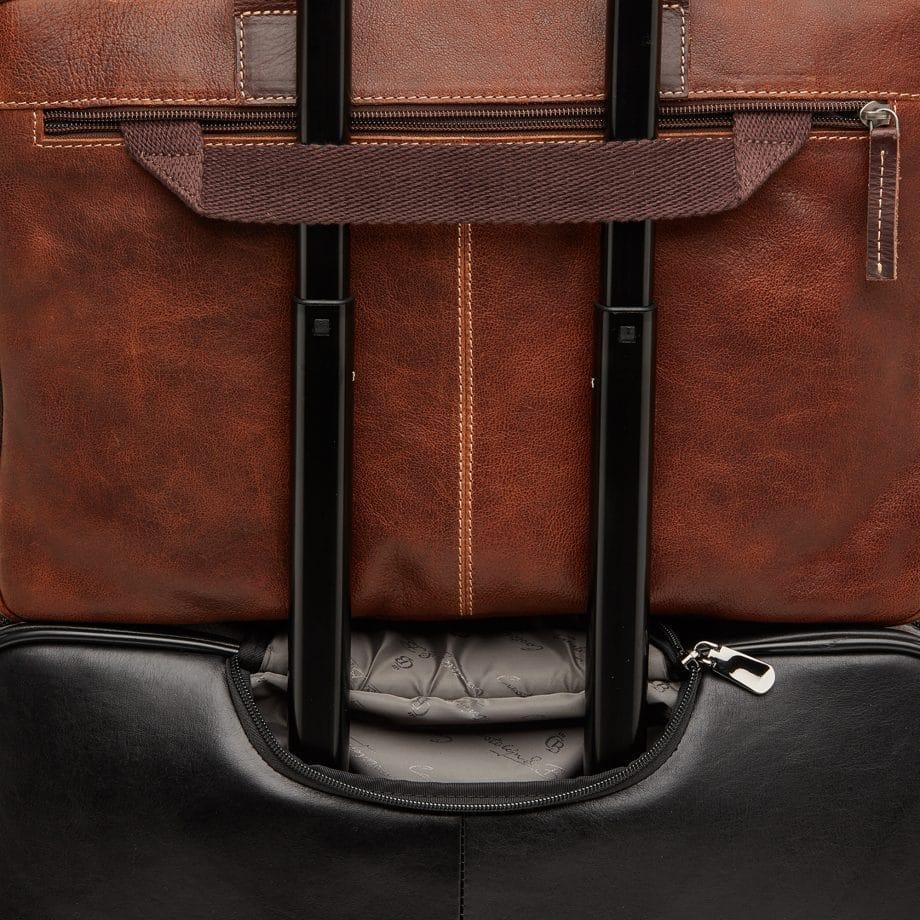 59 9473 Castelijn Beerens Sam Laptop bag light brown detaljer 3