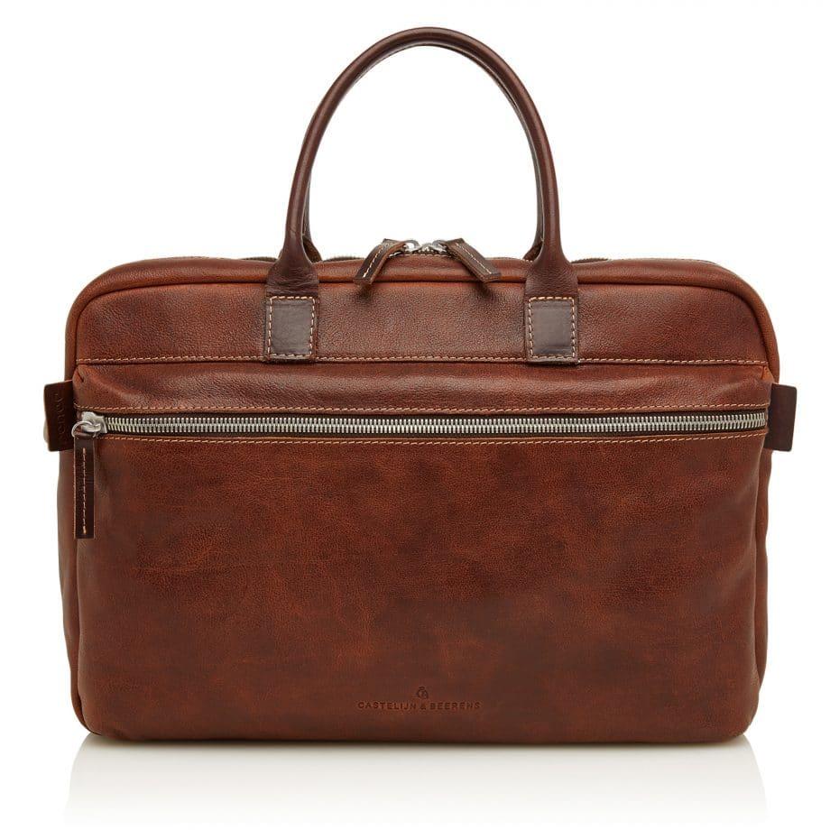 59 9473 Castelijn Beerens Sam Laptop bag light brown forside