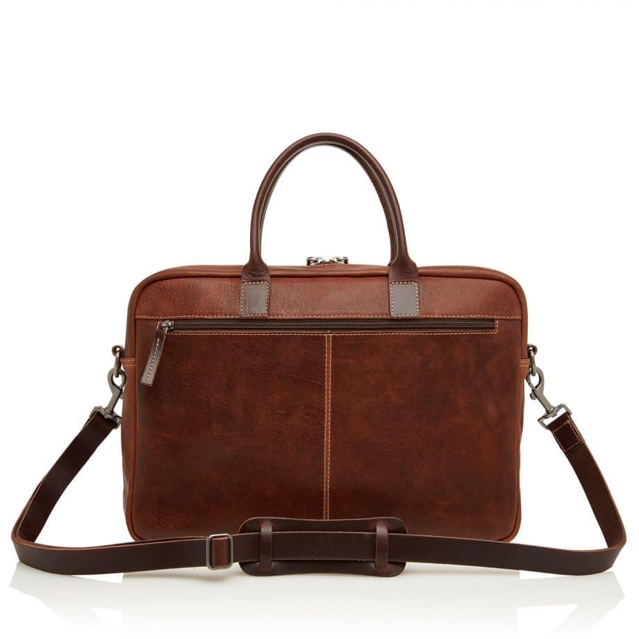 59 9479 Castelijn Beerens Rein laptop bag light brown bakside