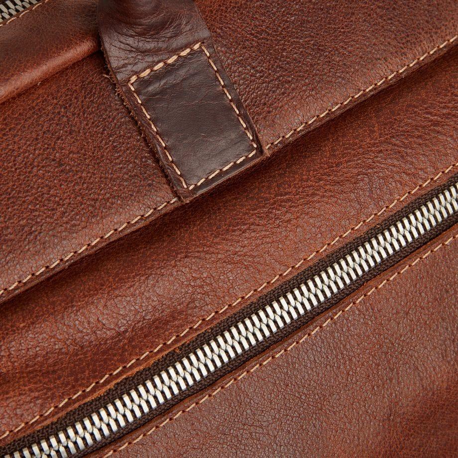 59 9479 Castelijn Beerens Rein laptop bag light brown detaljer 2