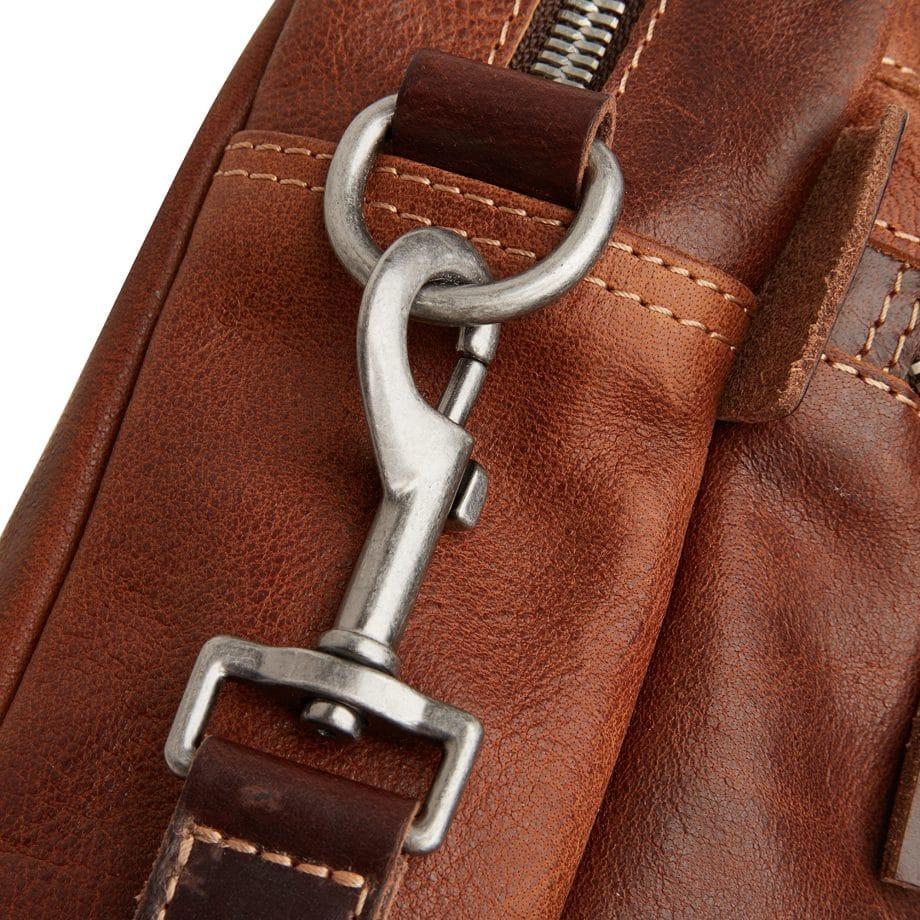 59 9479 Castelijn Beerens Rein laptop bag light brown detaljer 3