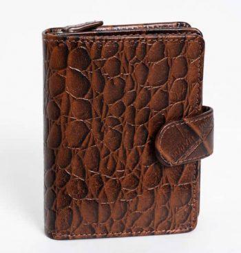 62681 The Monte Lommebok Cognac Forside