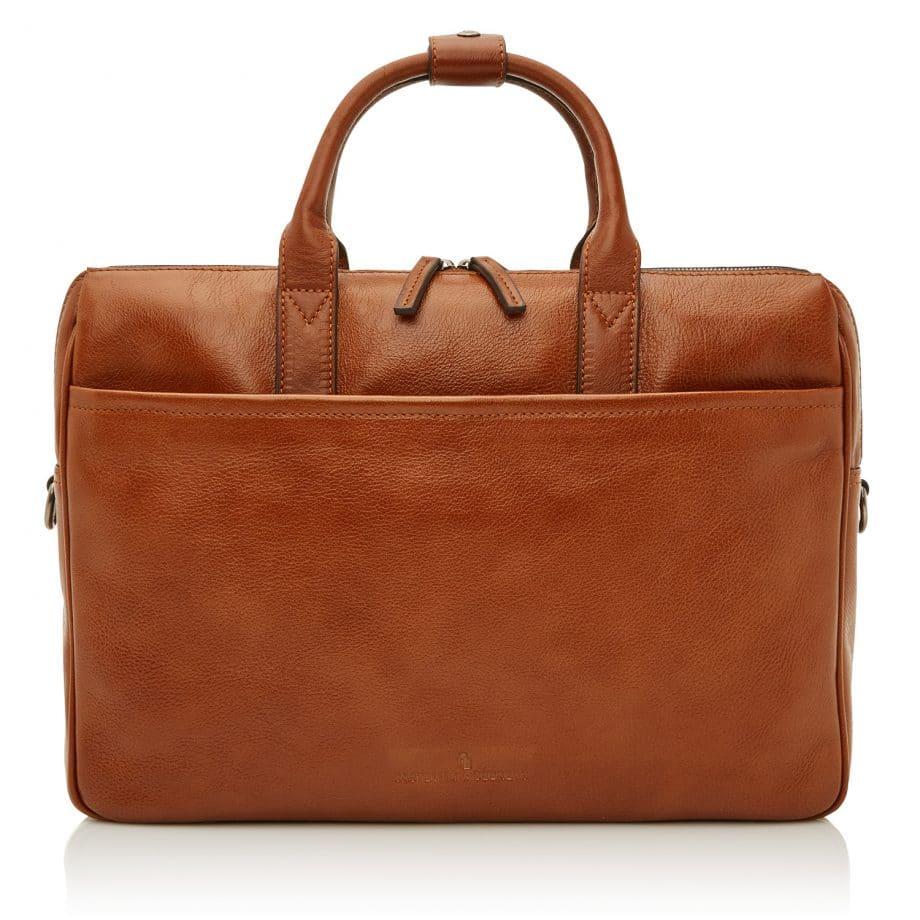 64 9473 Castelijn Beerens Laptop Bag light brown forside