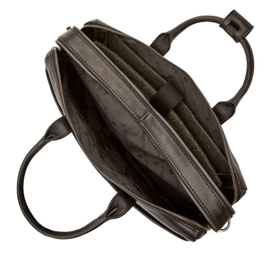 64 9473 Castelijn Beerens Laptop Bag sort innside