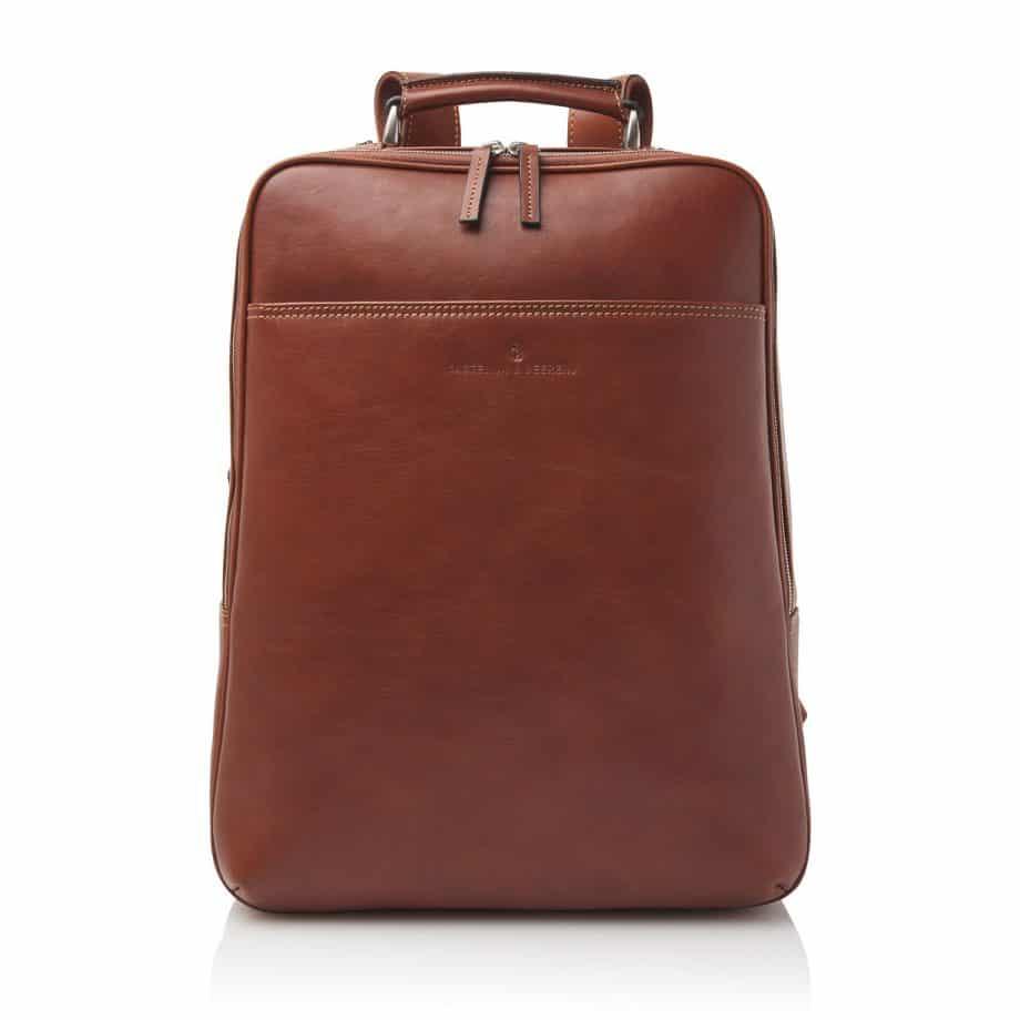 689576 Castelijn Beerens Verona Laptop Backpack 15.6 Light Brown Forside