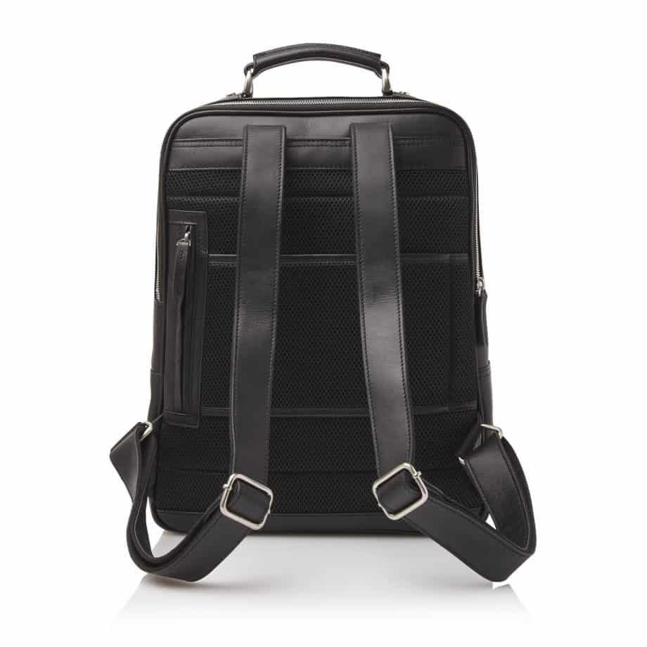 689576 Castelijn Beerens Verona Laptop Backpack 15.6 Sort Bakside