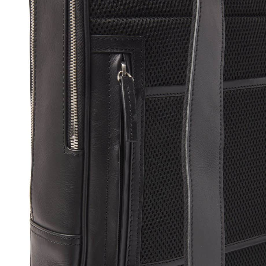 689576 Castelijn Beerens Verona Laptop Backpack 15.6 Sort Detaljer 2