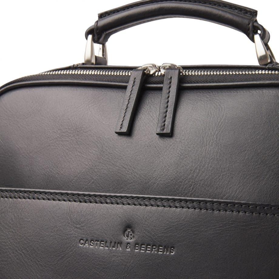 689576 Castelijn Beerens Verona Laptop Backpack 15.6 Sort Detaljer