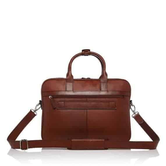 69 9472 Castelijn _ Beerens - Vivo - Laptop Bag 15.6_ RFID - Cognac bakside