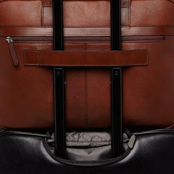 69 9472 Castelijn _ Beerens - Vivo - Laptop Bag 15.6_ RFID - Cognac detaljer 3