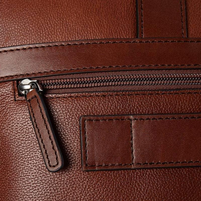 69 9472 Castelijn _ Beerens - Vivo - Laptop Bag 15.6_ RFID - Cognac detaljer