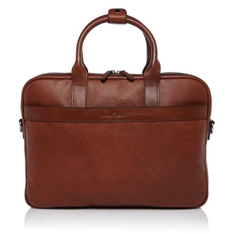 69 9472 Castelijn _ Beerens - Vivo - Laptop Bag 15.6_ RFID - Cognac forside