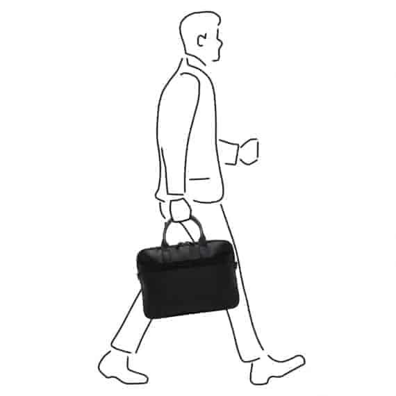 69 9472 Castelijn _ Beerens - Vivo - Laptop Bag 15.6_ RFID - sort modell