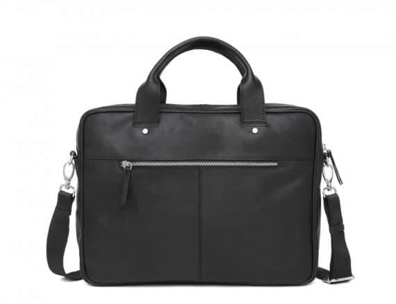 697452 ADAX Kb3 working bag Villads_black_sort_bakside