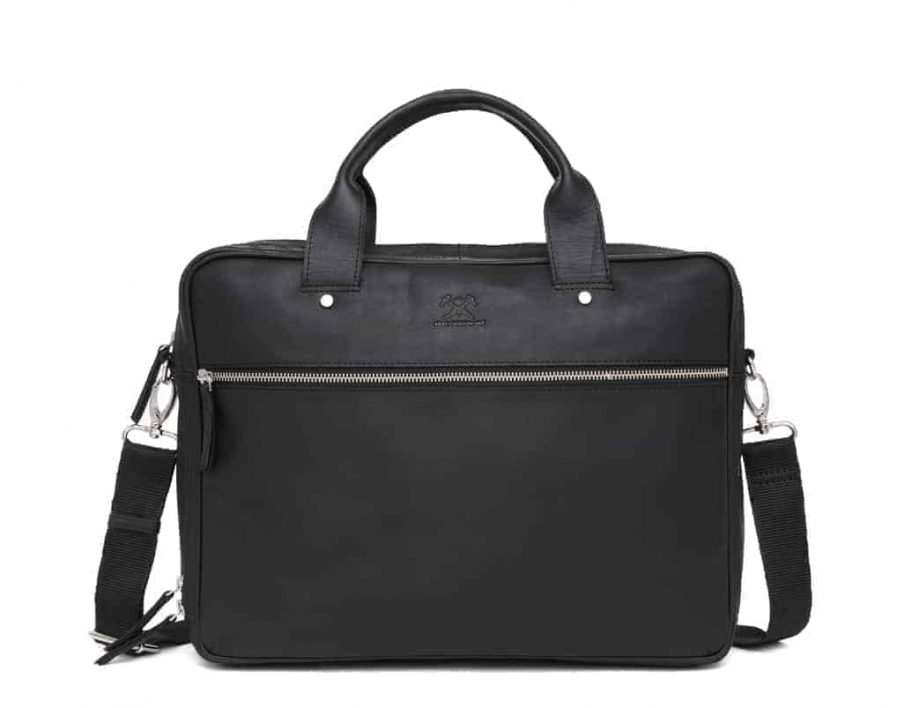 697452 ADAX Kb3 working bag Villads_black_sort_forside