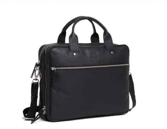 697452 ADAX Kb3 working bag Villads_black_sort_fra siden