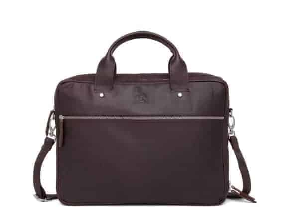 697452 ADAX Kb3 working bag PC-veske Villads_brown_brun_forside.jpg