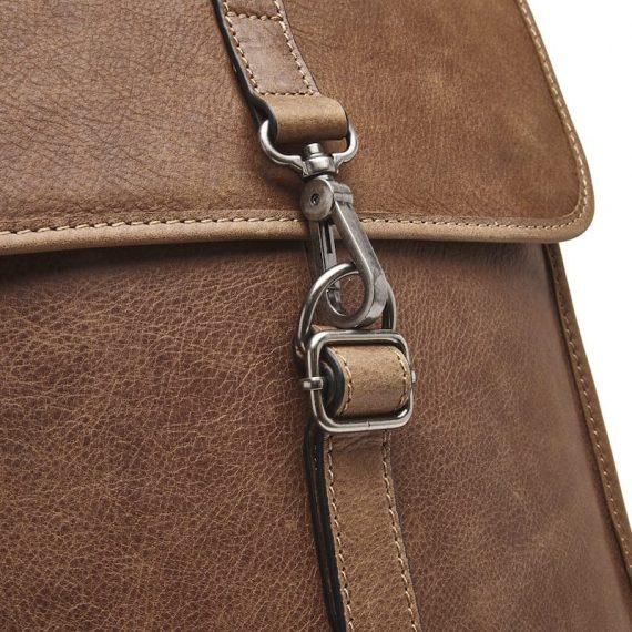 72 9575 Castelijn _ Beerens - Carisma - Laptop Backpack 15.6_ RFID - cognac detaljer 3