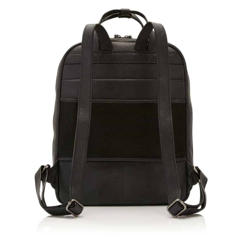 72 9577 Castelijn Beerens Laptop backpack Sort Bakside