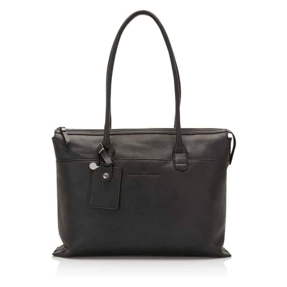72 9761 Castelijn Beerens laptop shoulderbag sort forside