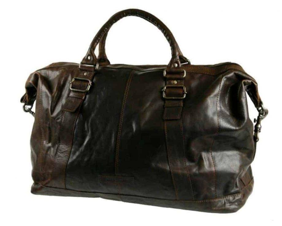 7723831 Spikes Sparrow Weekendbag brun forside