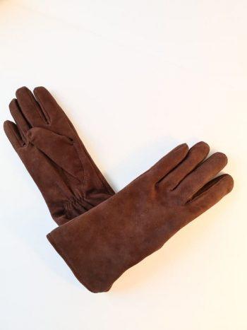 9250-1 Semskede damehansker ullfor brun.jpg