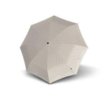 9532004803 Knirps duomatic paraply T.200 powder oppslått