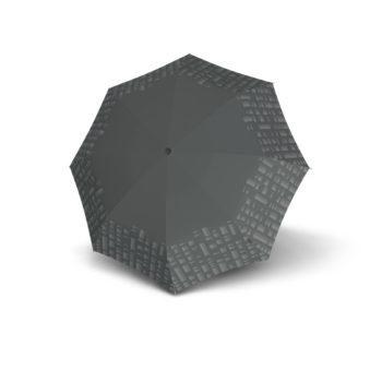9532008276 Knirps duomatic paraply T.200 grå oppslått