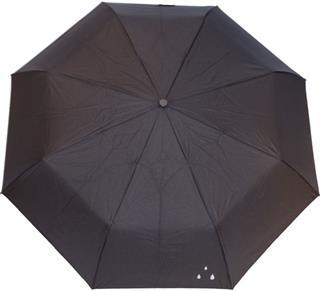 ABC Paraply Regndråper Sort