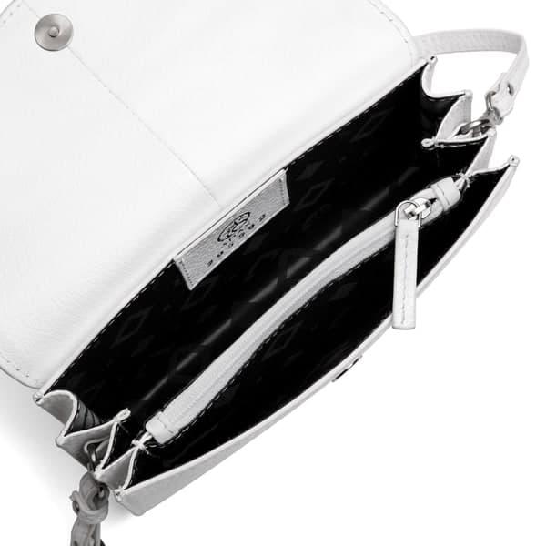 ADAX 295592 Cormorano shoulder bag white åpen