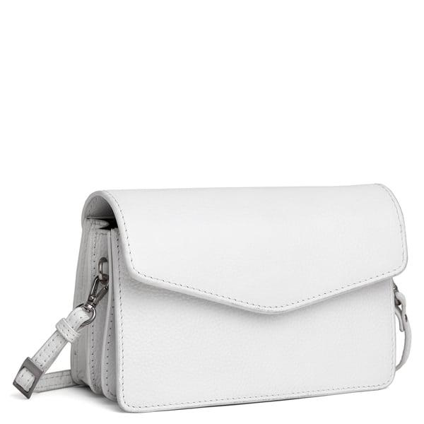 ADAX 295592 Cormorano shoulder bag white skrå