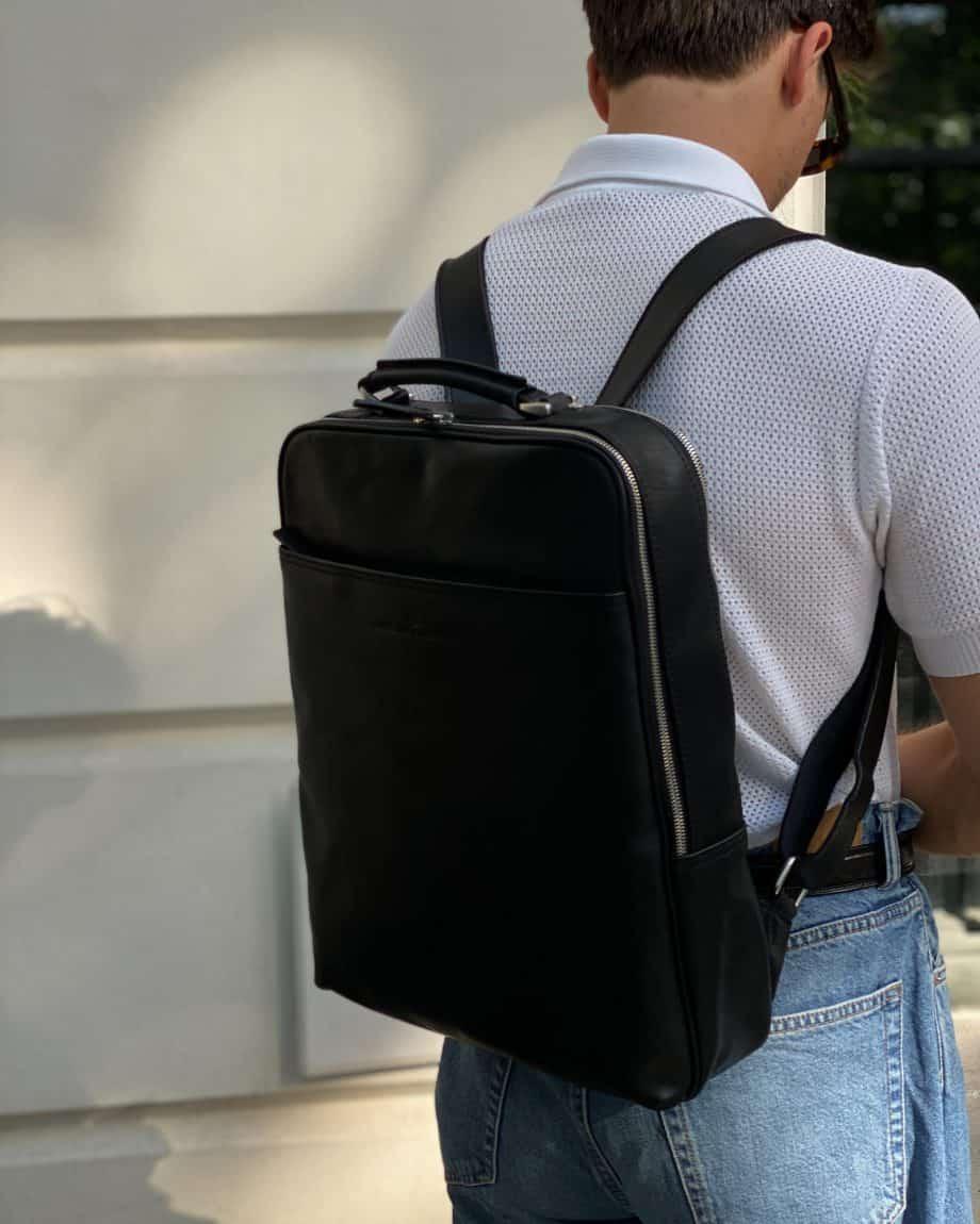 689576 Castelijn Beerens Verona Laptop Backpack 15.6 Sort Lifestyle 2