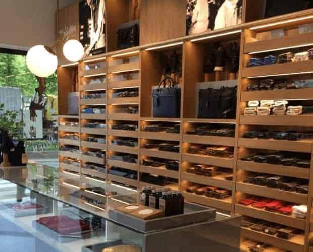 Hanske-Hallén, butikken i Oslo