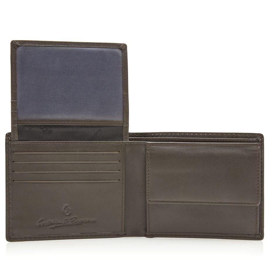 80 4198 Castelijn Beerens Lommebok 8 kort RFID Mocca Innside 2