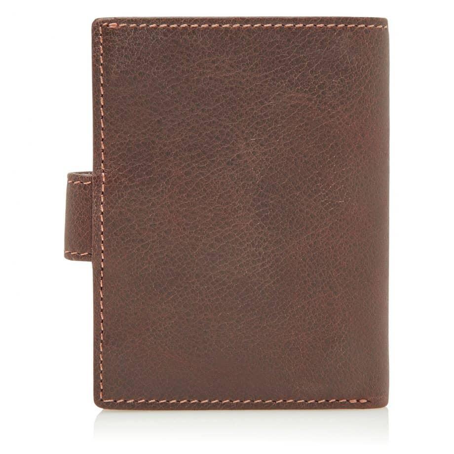 48 0856 Castelijn Beerens RFID 10 Card Mini Wallet Mocca Bakside