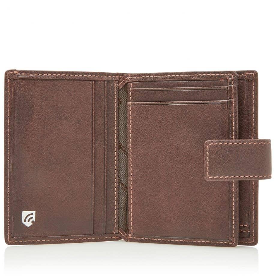 48 0856 Castelijn Beerens RFID 10 Card Mini Wallet Mocca Innside 2