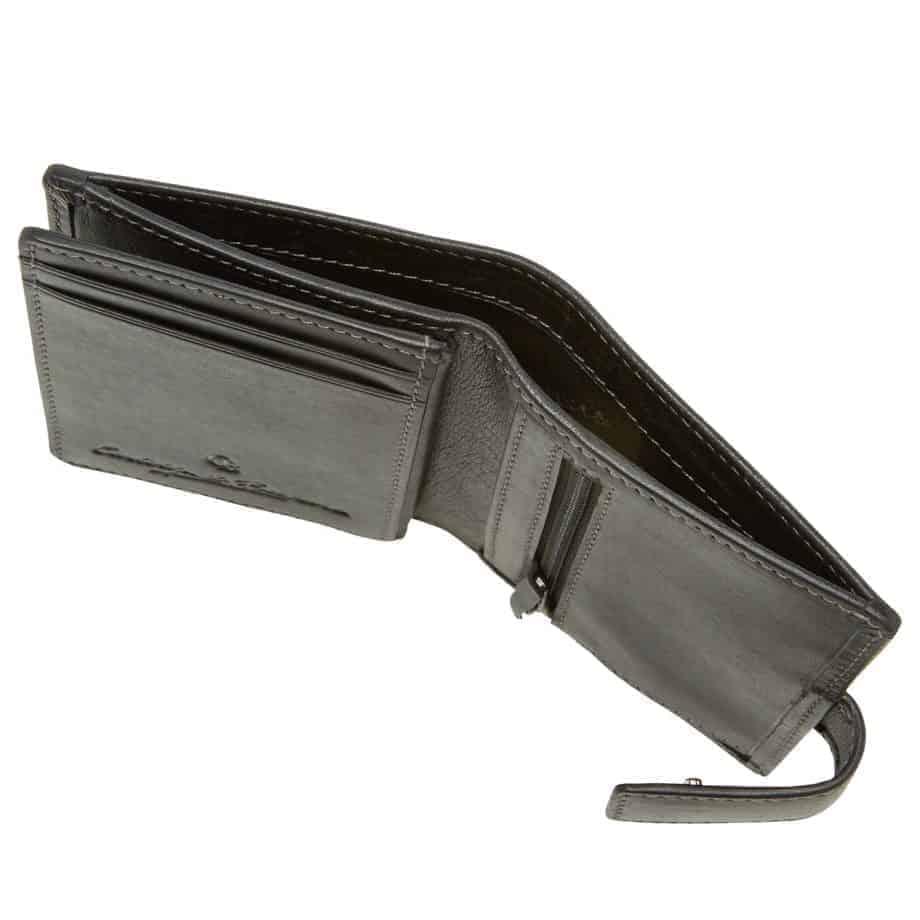 48 0856 Castelijn Beerens RFID 10 Card Mini Wallet Sort Detaljer