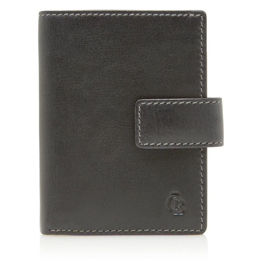 48 0856 Castelijn Beerens RFID 10 Card Mini Wallet Sort Forside