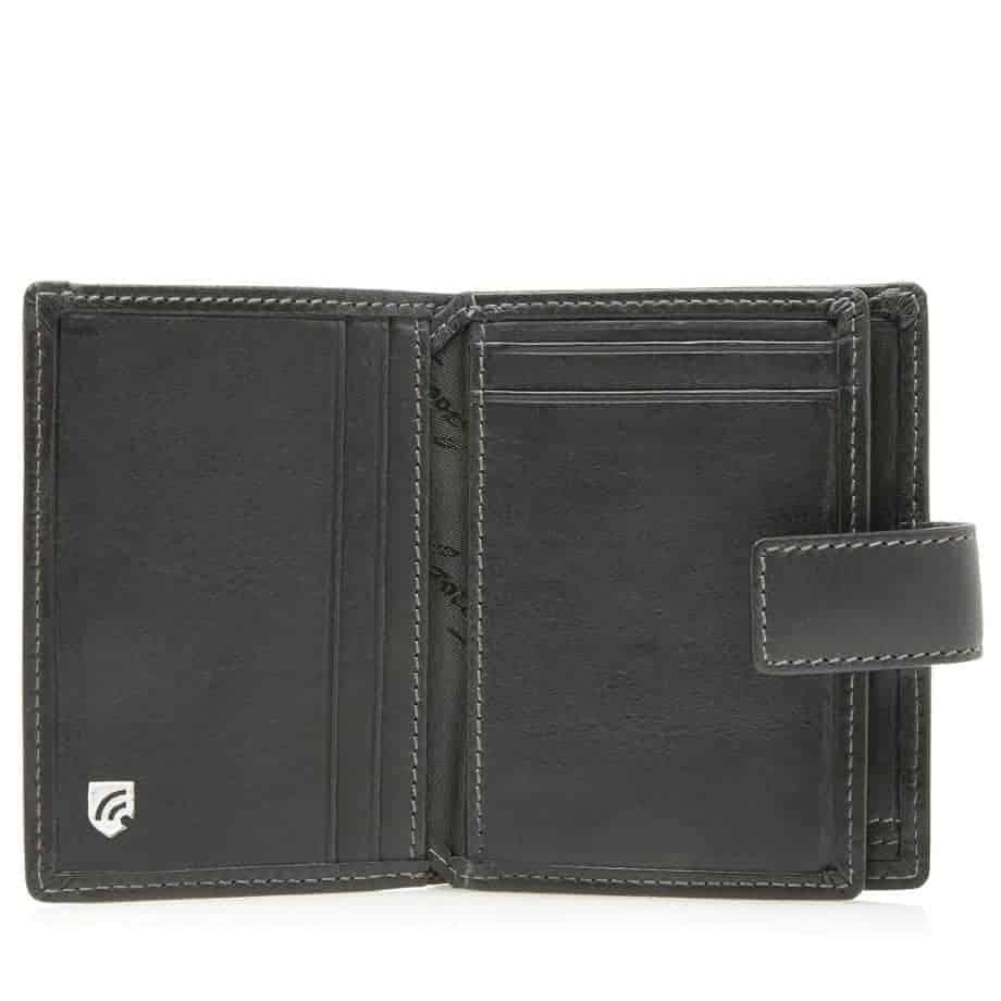 48 0856 Castelijn Beerens RFID 10 Card Mini Wallet Sort Innside 2