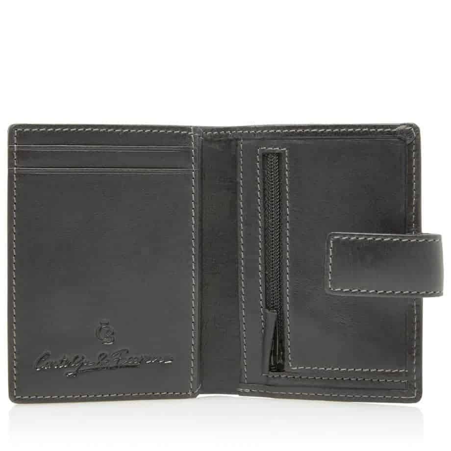 48 0856 Castelijn Beerens RFID 10 Card Mini Wallet Sort Innside