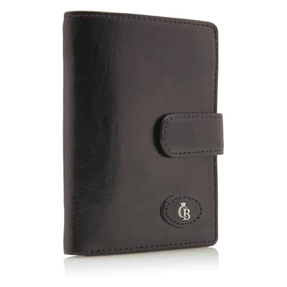 42 5420 Castelijn Beerens Tri Fold Zip Wallet RFID Sort Side